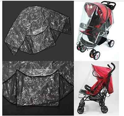 Portable Baby Canopy Waterproof Rain Cover Shield for Stroller Baby Pushchair