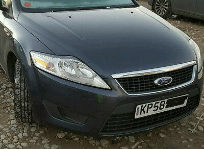2007-2012 Ford Mondeo Mk4 Complete Frontend Bonnet Headlights Panel Bumper Wings