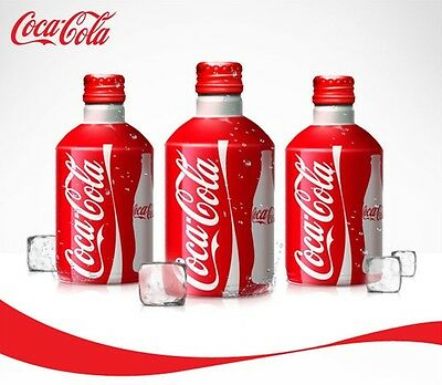 Coca cola Premium Aluminium bottle Limited edition 300ml