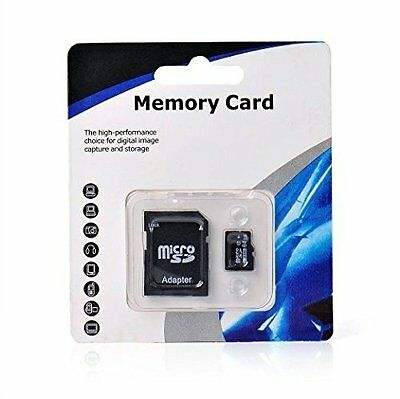 64Gb Micro Sd Sdhc Card Class 10 With Free Adapter