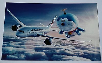 Japan Airlines Postcard JAL Aircraft Card New