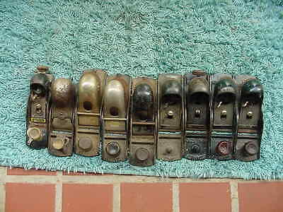Used STANLEY Wood Block Planes For Parts