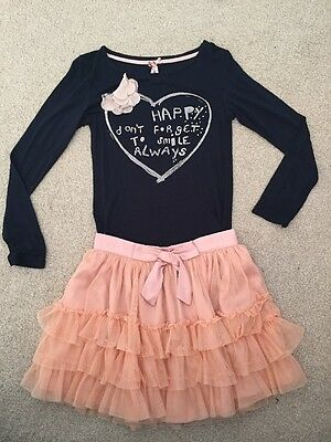 Girls NEXT top (selling With A Lace Rara Skirt That Matches It) Age 7