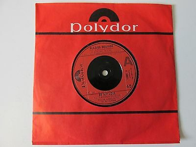 "PLACIDO DOMINGO BE MY LOVE (1980s CLASSICAL) VINYL 7"" 45RPM"