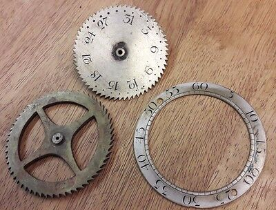 Assortment Of Grandfather/longcase Clock Date Works-No Reserve!