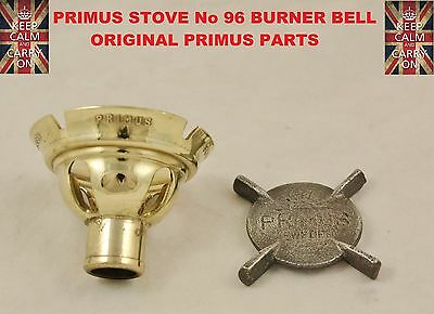 PRIMUS STOVE No96 BURNER BELL AND CAST PLATE OPTIMUS STOVE ORIGINAL PARTS