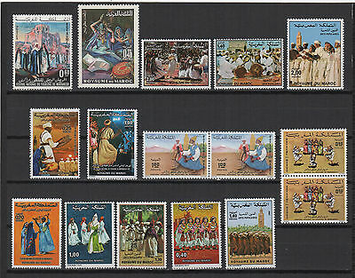 1970/80 Royaume du Maroc 16 timbres neufs /T561