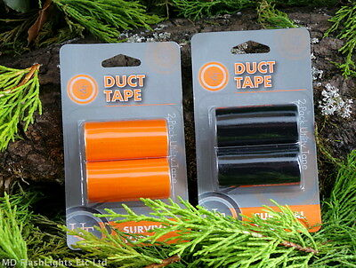 Ust Mini Compact Duct Tape Rolls Repair Tape Bushcraft Survival Camping Edc