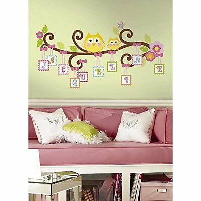 Scroll Tree Letter Branch Peel Stick Giant Wall Decal Sticker Removable Kid Room