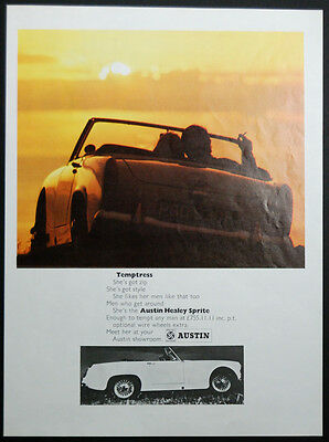1968 Austin Healey Spite  – Original Magazine Advert