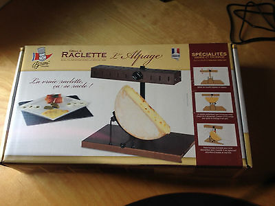 """NEUF* Grill à raclette """"L'alpage"""" - BRON COUCKE"""