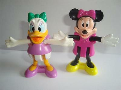 Disney, Patta and Minnie, with movable arms and legs