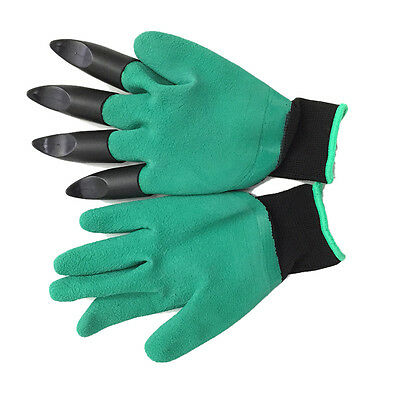 New Garden Easy Work Gloves Mud Rubber Sand Digging Plant Hand Protector Home