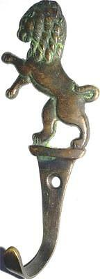 An attractive LION designed COAT hook made of brass from INDIA