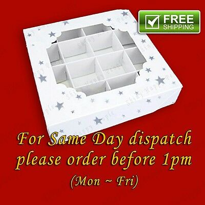 **SALE** Empty SILVER STAR Pick And Mix Sweet Boxes Multi listing