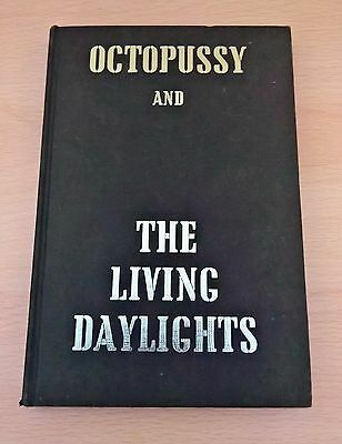 Octopussy First Edition Ian Fleming 1st Printing UK 1966 Rare Book