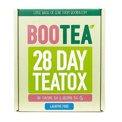 Bootea 28 Day Natural Detox With no LAXATIVE effect. Originaly boxed. Brand New.