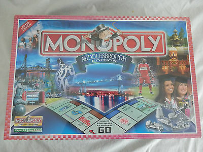 Monopoly Middlesbrough Edition Board Game New & Sealed