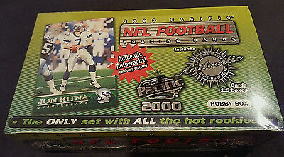 "2000  Pacific  Hobby Wax Box  Tom Brady Rc's/autograph  "" Factory Sealed "" !!!"