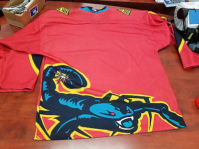 New Mexico Scorpions sublimated hockey jersey Large mens men RARE defunct team