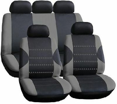 Mitsubishi Outlander 07-12 Racing Grey Seat Covers