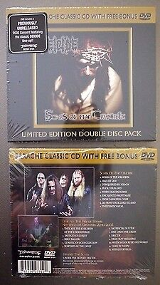 """Deicide """"Scars of the crucifix"""""""" limited CD + DVD NEW sealed reissue"""