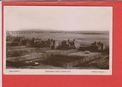 Ardrossan from Castle Hill Old Photo Pc
