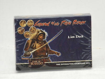 Legend of the Five Rings (L5R) CCG Code of Bushido Lion Clan Deck  New & Sealed