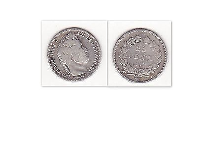 25 Centimes LOUIS-PHILIPPE 1847 A