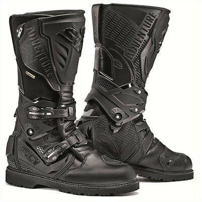 Sidi Adventure 2 Gore-Tex GTX Boots - Black - (ALL SIZES) - Fast & Free shipping