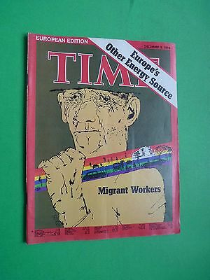 TIME magazine Europe 1973 December 3 Migrant Workers Other Energy Source