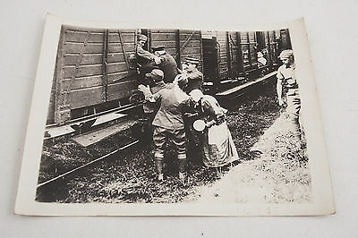 14125 3rd Division Refugees US Army Signal Corps Official Photograph WWI 1918