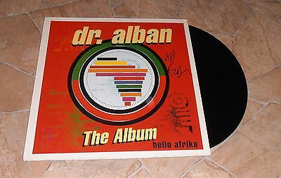 Dr. Alban *Sing Hallelujah, It`s my Life*, original signed LP-Cover + LP