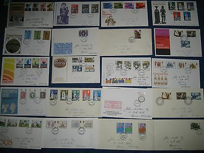 Job Lot Of 20 First Day Covers From The 1980's