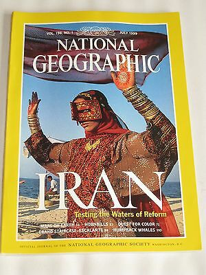 The National Geographic Magazine July 1999