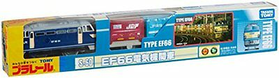 S-60 EF66 Electric Locomotive Tomica PlaRail Model Train from Japan New