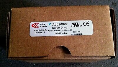 Copley Controls Accelnet ACJ-055-09 Digital Drive FACTORY SEALED
