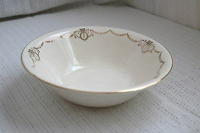 "Edwin M Knowles - ADAMS - U.S.A. Semi Vitreous - 9"" Round Vegetable Serving Bowl"