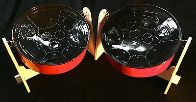 Mini Double Steel Pan Drum - SALE!!! - Lowest Price!!!  Drums ONLY