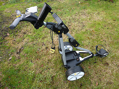 PowaKaddy FW7 Electric Golf Trolley No Battery Or Charger In Very Good Condition