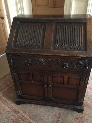 Vintage 'Old Charm' writing desk/bureau approx 1950s