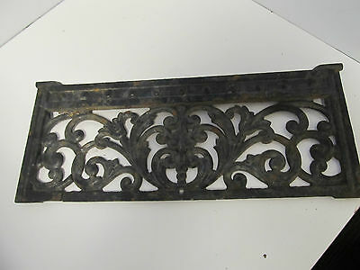 Antique 1910 Cast Iron  Heater Stove Cover
