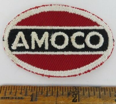 AMOCO 1950s Patch NOS New Old Stock GAS OIL SERVICE STATION Petroliana