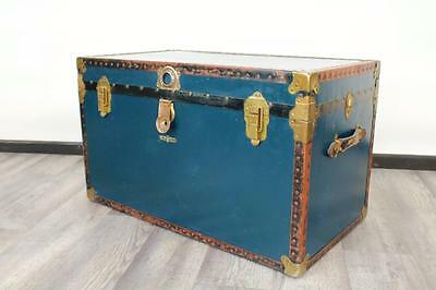 Antique / Vintage Trunk / Steamer / Coffee Table / Coffer / Luggage / Chest