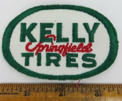 KELLY TIRES 1950s Patch NOS New Old Stock GAS OIL SERVICE STATION Petroliana