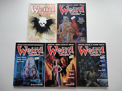 5 Issues Weird Tales # 292, 293, 294, 295, 296