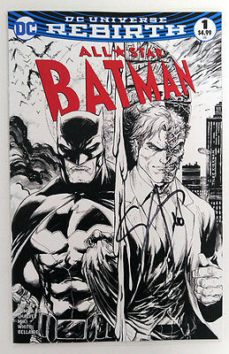 Midtown Exclusive All Star Batman #1 Sketch Ver Signed by Scott Snyder with COA