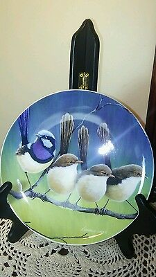 Maxwell Williams Birds of Australia by Katherine Castle Bone China Plate in Box