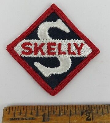 SKELLY 1950s Patch NOS New Old Stock GAS OIL SERVICE STATION Petroliana