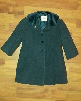 Laura Ashley Vintage Mother & Child victorian Style Winter Coat. 12-18 months